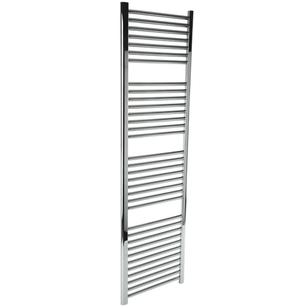 "Borhn Napoli Chrome Hardwired Wall Mount Towel Warmer 68""x 18"" B51680"