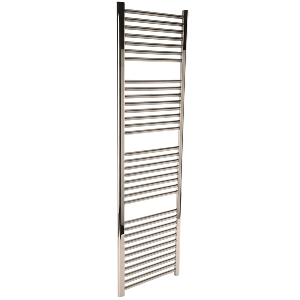 "Borhn Napoli Polished Nickel Hydronic Wall Mount Towel Warmer 68""x 18"" B51672"