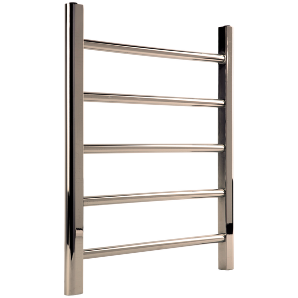"Borhn Nerolo Polished Nickel Hardwired Wall Mount Towel Warmer 26""x 24"" B51752"