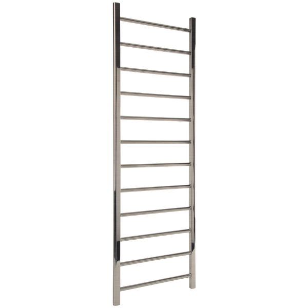 "Borhn Nerolo Brushed Nickel Hydronic Wall Mount Towel Warmer 69""x 24"" B51789"