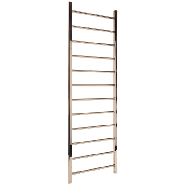 "Borhn Nerolo Polished Nickel Hydronic Wall Mount Towel Warmer 69""x 24"" B51792"