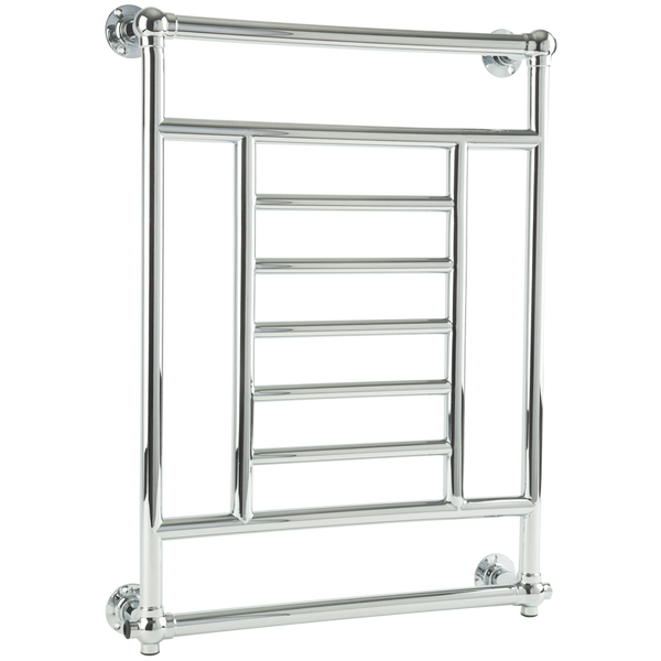 "Borhn Marzano Chrome Plug-In Wall Mount Towel Warmer 34""x 26"" B51844"