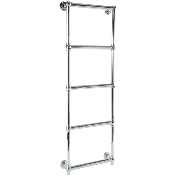 "Borhn Berrali Chrome Hardwired Wall Mount Towel Warmer 48""x 20"" B51860"