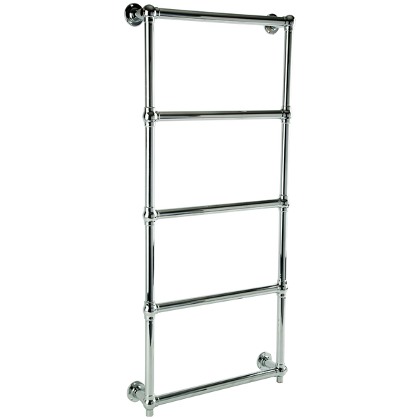 "Borhn Berrali Chrome Hardwired Wall Mount Towel Warmer 48""x 24"" B51884"
