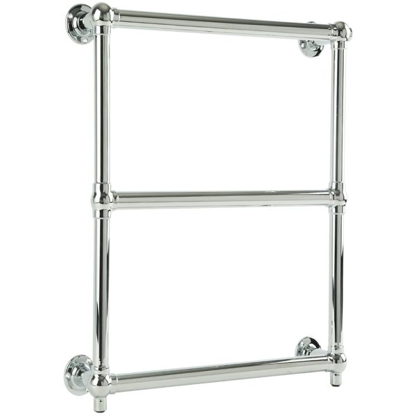 "Borhn Berrali Chrome Hydronic Wall Mount Towel Warmer 27""x 24"" B51888"