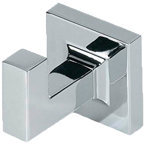 Borhn Forano Chrome Wall Mount Bathroom Robe Hook B51973