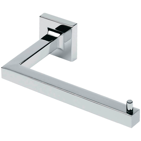 Borhn Forano Chrome Wall Mount Bathroom Toilet Roll Holder B51989