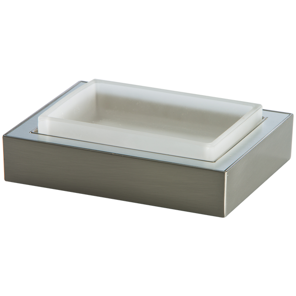 Borhn Forano Brushed Nickel Free-Standing Bathroom Soap Dish B52035