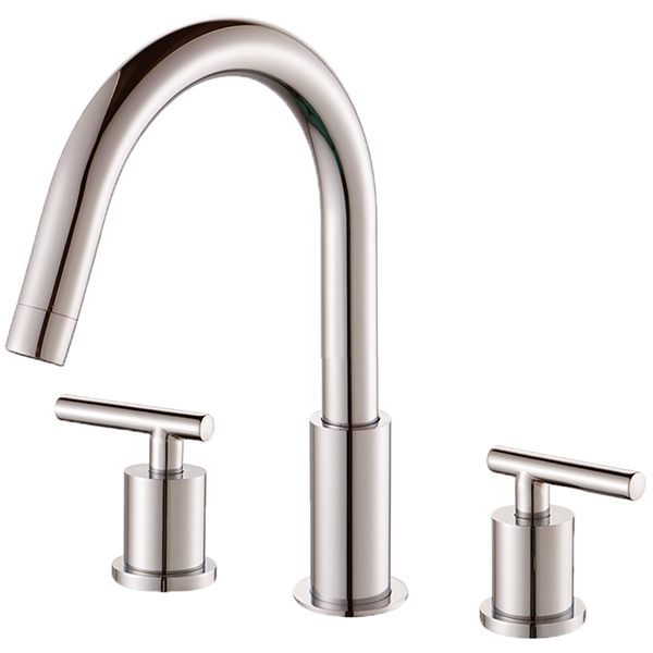 "Borhn Ossimo 8"" Spread Bathroom Faucet Brushed Nickel B52215"