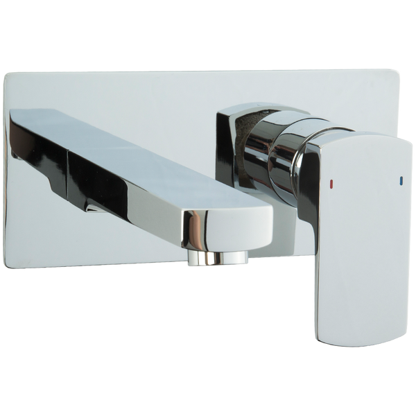 Borhn Rimini In Wall Bathroom Faucet with Control Chrome B52247