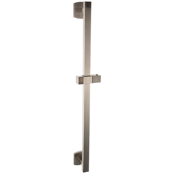 Borhn Brushed Nickel Square Adjustable Slide Bar B52275
