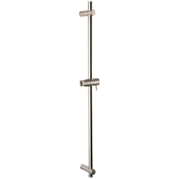 Borhn Brushed Nickel Round Adjustable Slide Bar with Integrated Water Outlet B52327