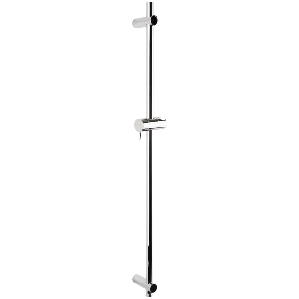 Borhn Chrome Round Adjustable Slide Bar with Integrated Water Outlet B52328