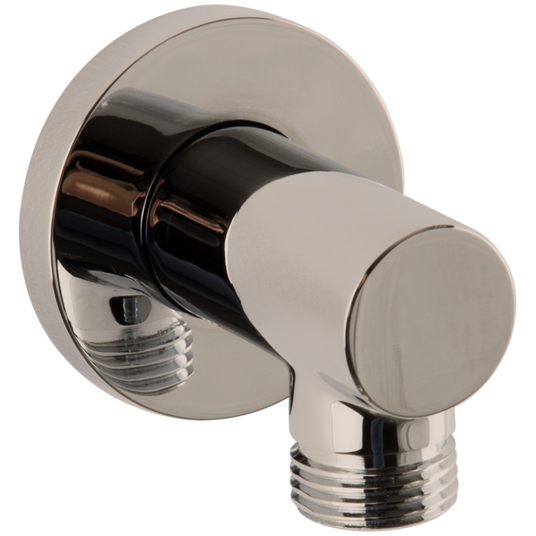 Borhn Brushed Nickel Round Shower Outlet Elbow B52375