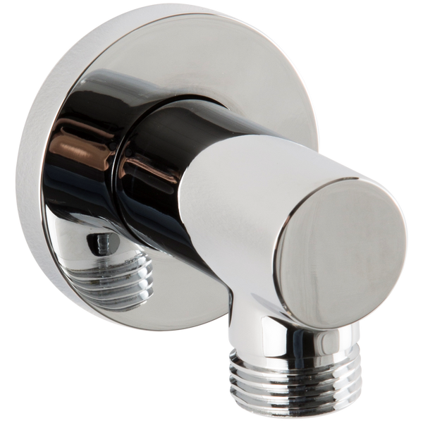 Borhn Chrome Round Shower Outlet Elbow B52376
