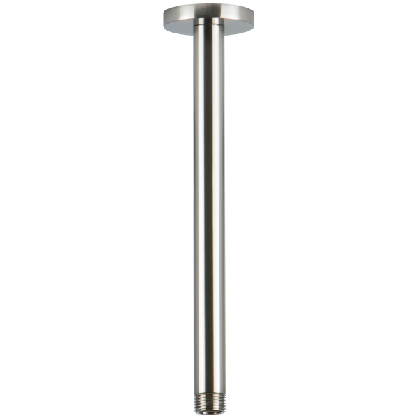 "Borhn Brushed Nickel 9.5"" Ceiling Mount Round Shower Arm B52383"