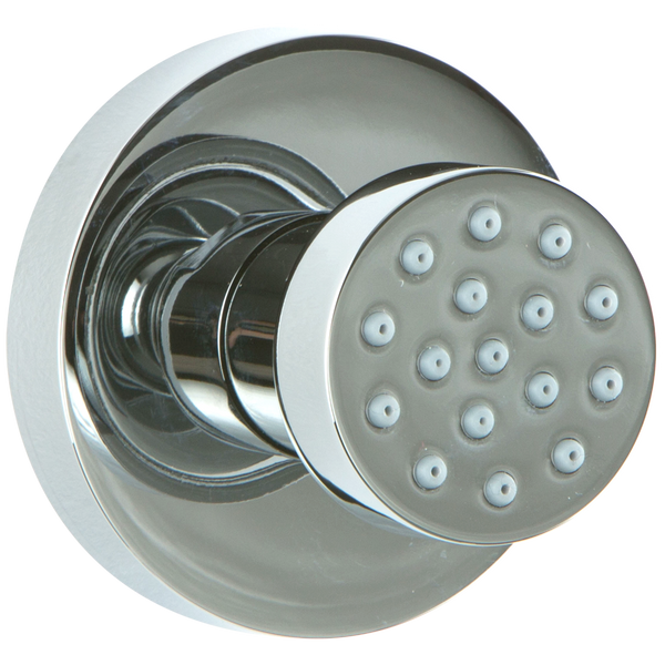 Borhn Chrome Body Jet, Round Nozzle with Round Backplate B52458