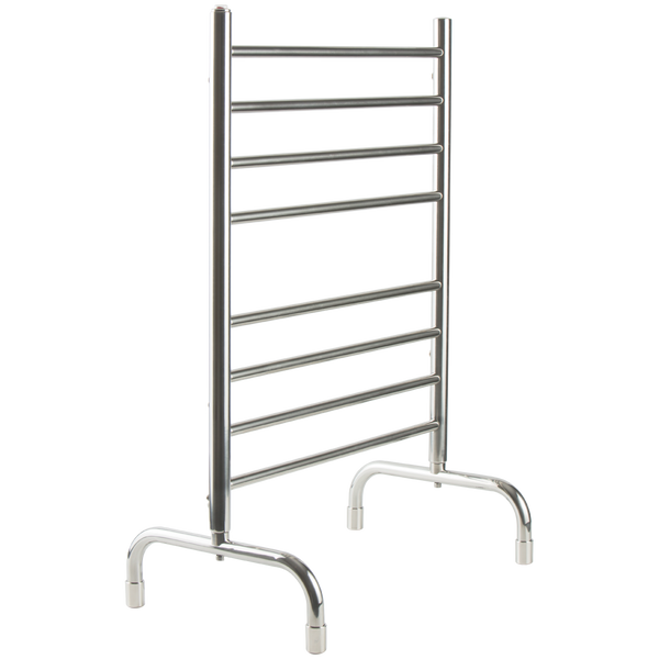 Borhn Andalo Chrome Free Standing Heated Towel Warmer Round B52855