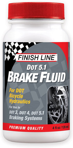 Finish Line DOT 5.1 Brake Fluid 4 oz