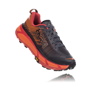 HOKA WOMEN'S EVO MAFATE 2 Black/Poppy Red
