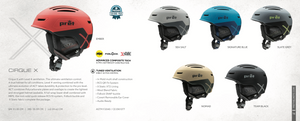 Pret Cirque X Helmet Colors
