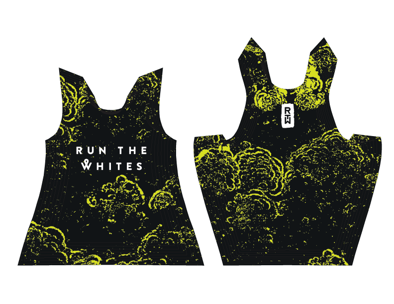 Run The Whites Team Singlet 2020