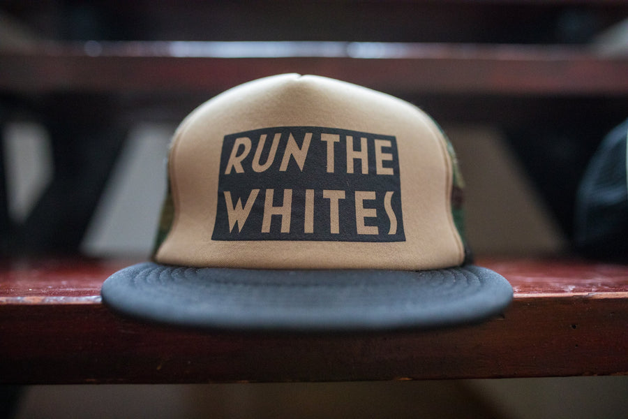 Run The Whites Hat - Camo