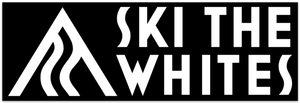 Ski The Whites Stickers Bumper