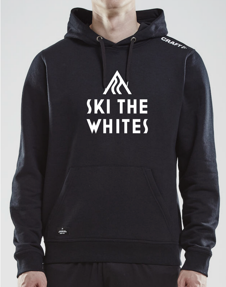 Ski The Whites Mens Hoodie