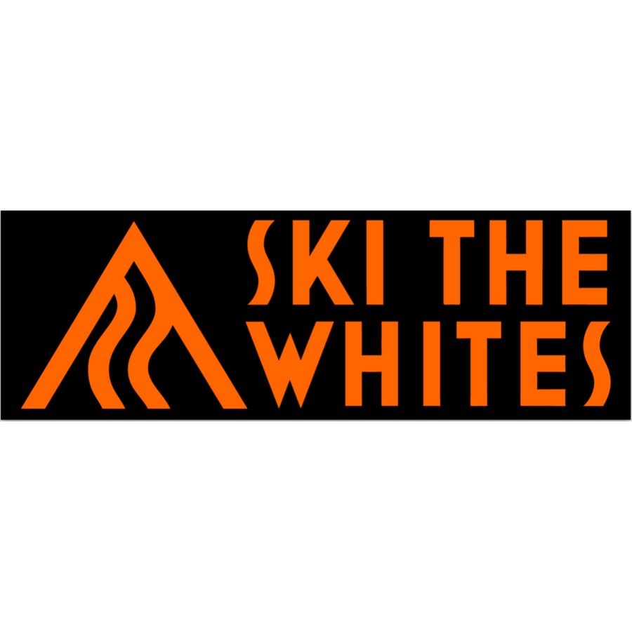 Ski The Whites Sticker