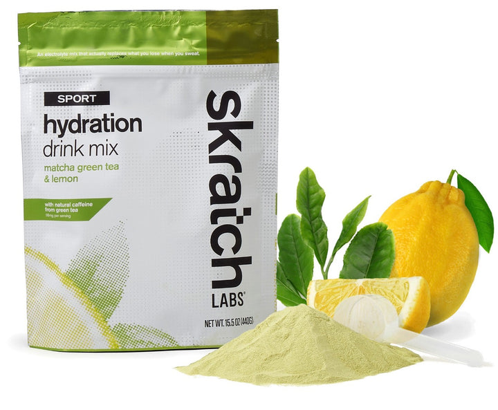 Skratch Labs Hydration Drink Mix Matcha Green Tea