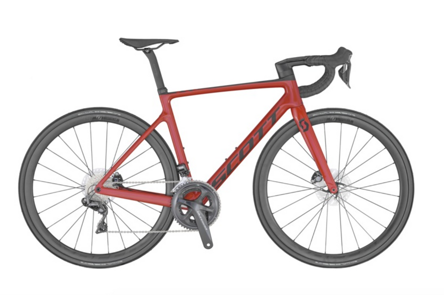 SCOTT ADDICT RC 15 RED BIKE