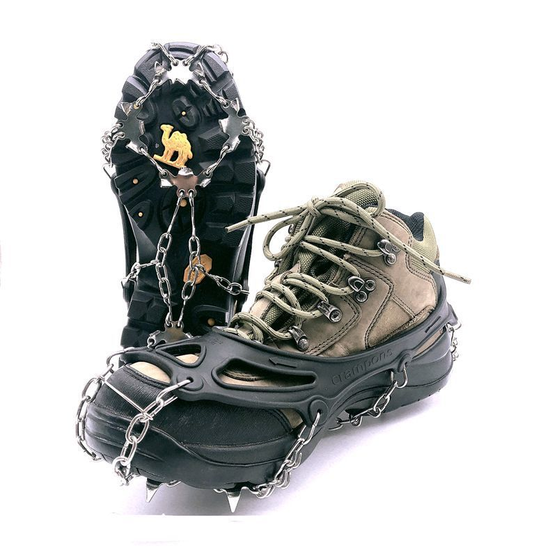 Microspike hiking running