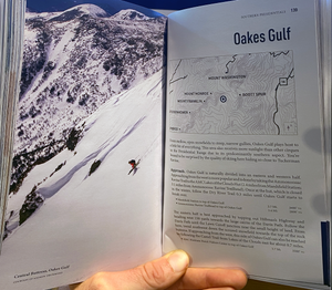 Presidential Skiing Backcountry Guide Book Sample Page