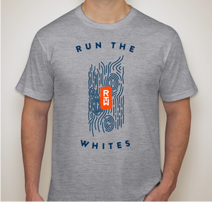 Run The Whites Blaze T-shirt Heather Gray