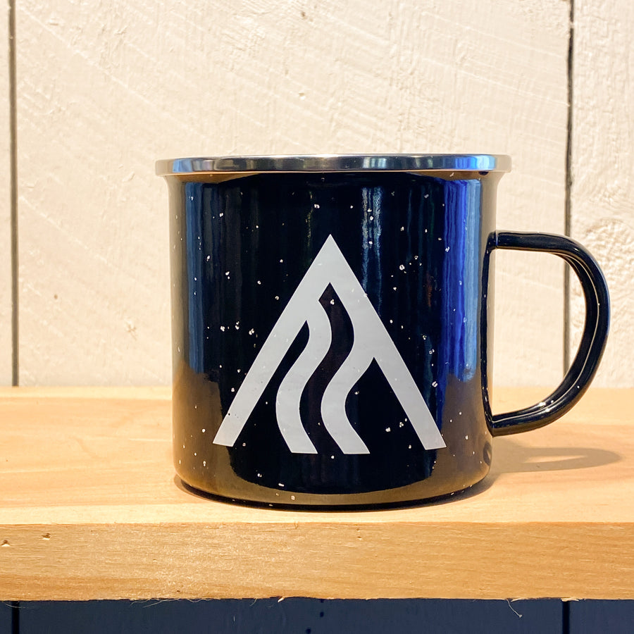 Ski The Whites Camping Mug (15oz)