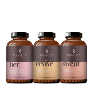 HER 30 Day Redefined: her-sweat-revive Bundle Wellthy Nutraceuticals