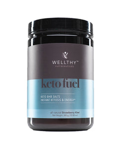 KETO FUEL: bhb salts for instant ketosis Supplements Wellthy Nutraceuticals