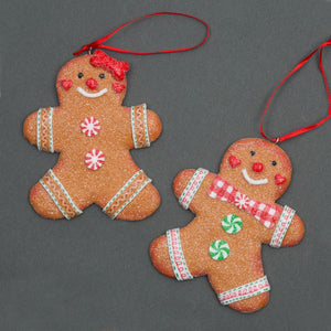 Gingerbread Hanging Decoration