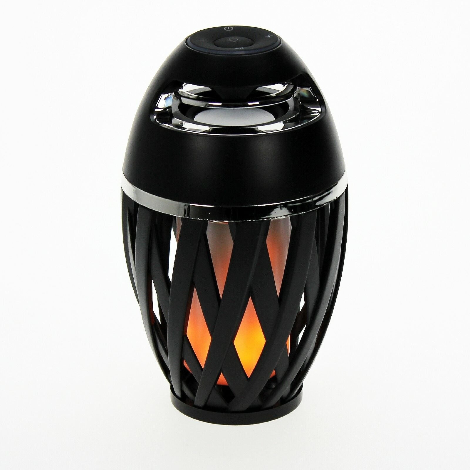 LED Flickering Flame Effect Bluetooth Speaker