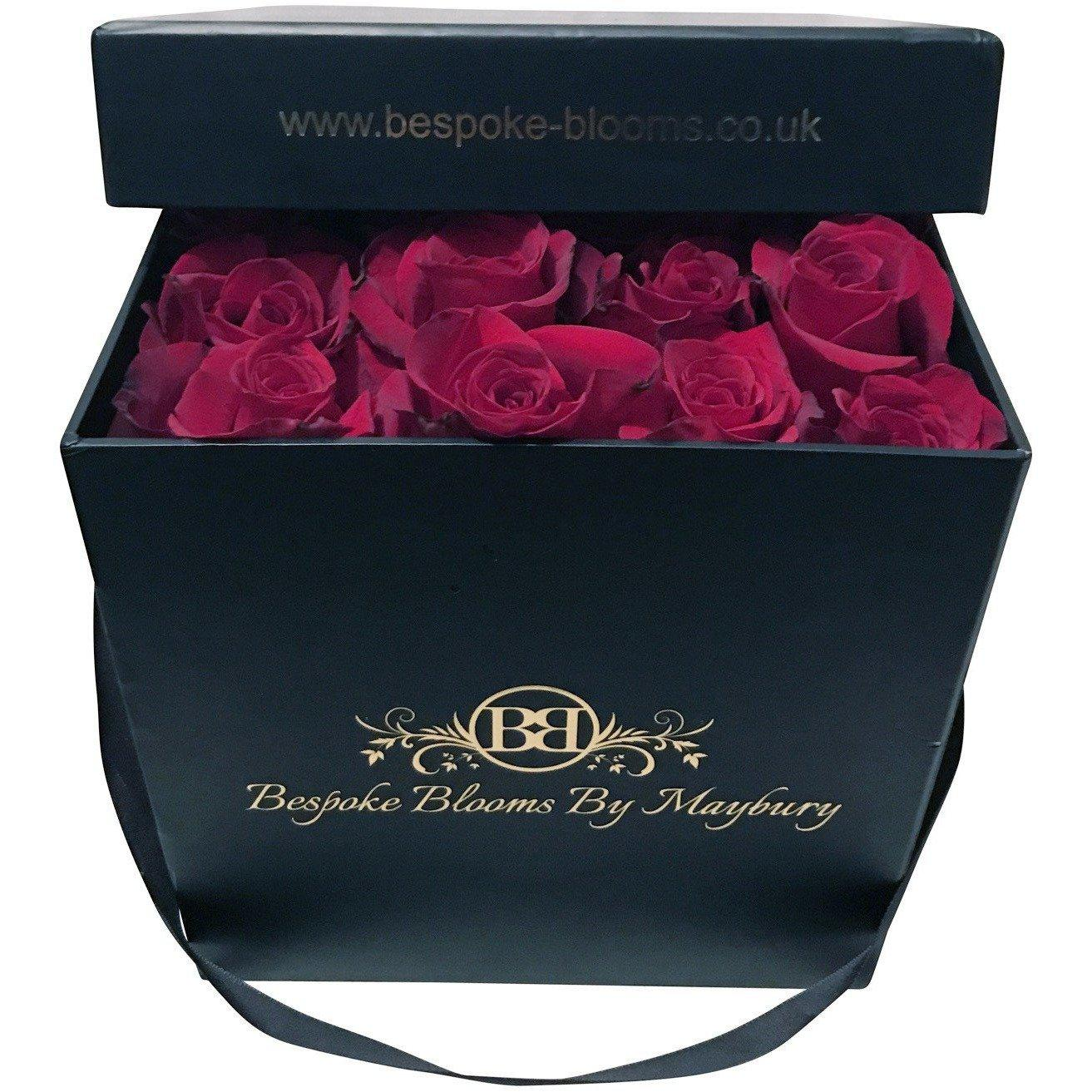 Red Rose Bloom Box - Bespoke Blooms By Maybury