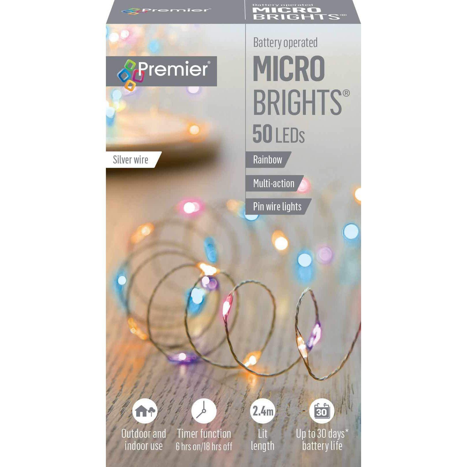 MicroBrights Rainbow Pin Lights
