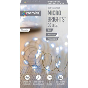 MicroBrights White Pin Lights
