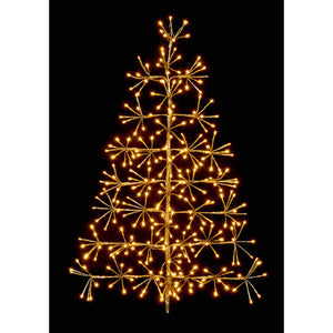 Gold Tree Cluster Warm White