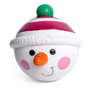 Christmas Snowman Latex Ball