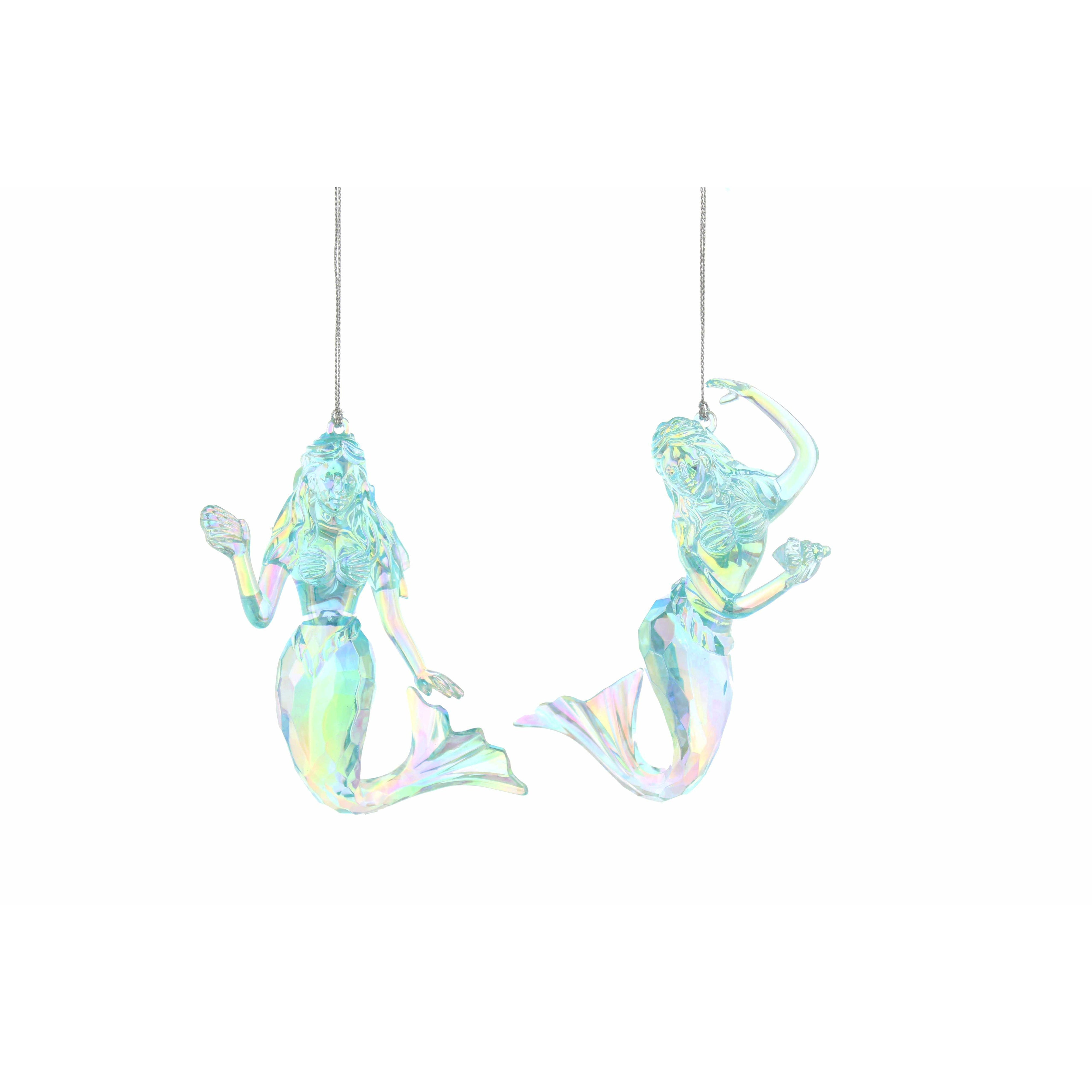 Blue Mermaid Decorations