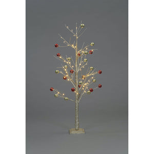 5ft Champagne Tree with Baubles