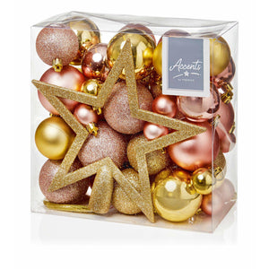 Fifty Piece Bauble Pack (various colours)