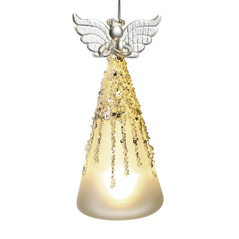 Glass Angel Tree Decoration