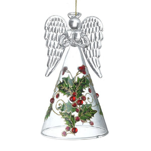 Glass Angel with Holly Dress